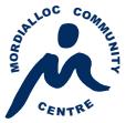 Mordialloc Community Centre Logo